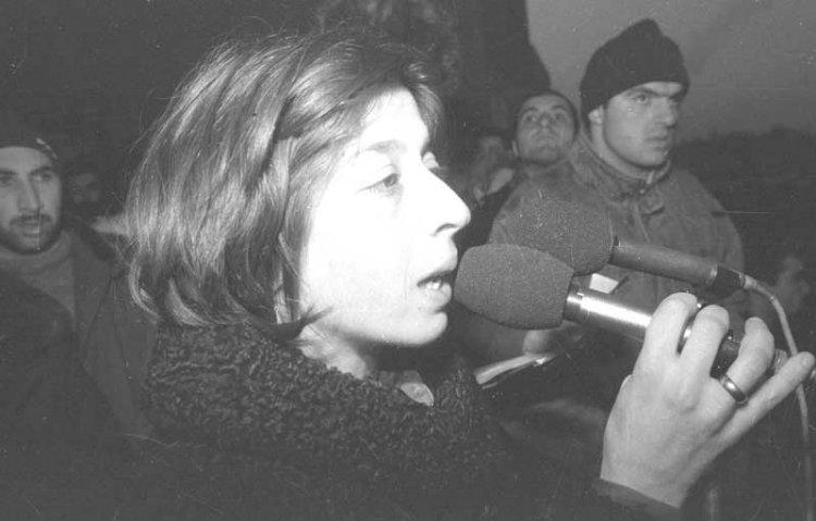 ირინა სარიშვილის პრეს-კონფერენცია ამერიკიდან დაბრუნების შემდეგ